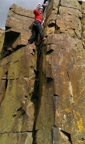 Rock climbing instructor