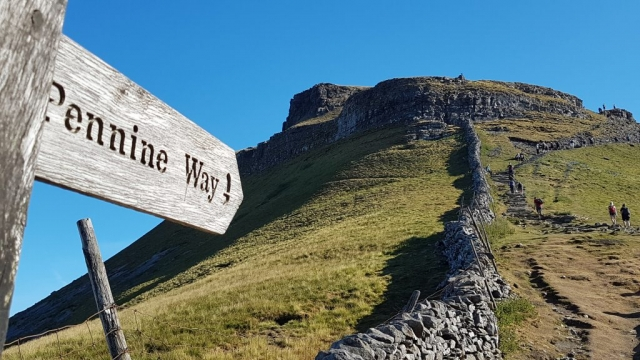 Yorkshire Three Peaks guiding