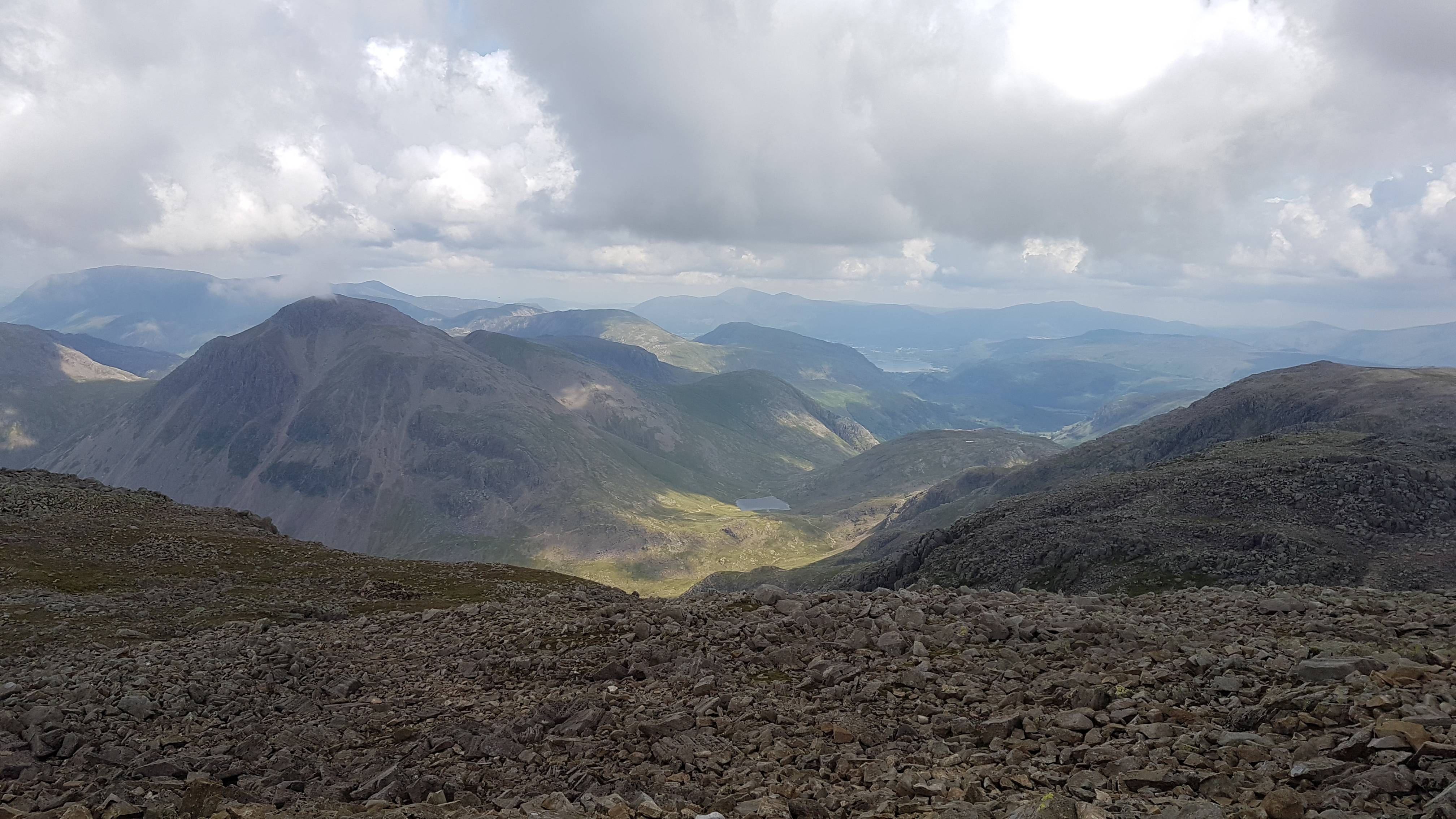 Wainwrights, guided walk, lake district, Scafell Pike