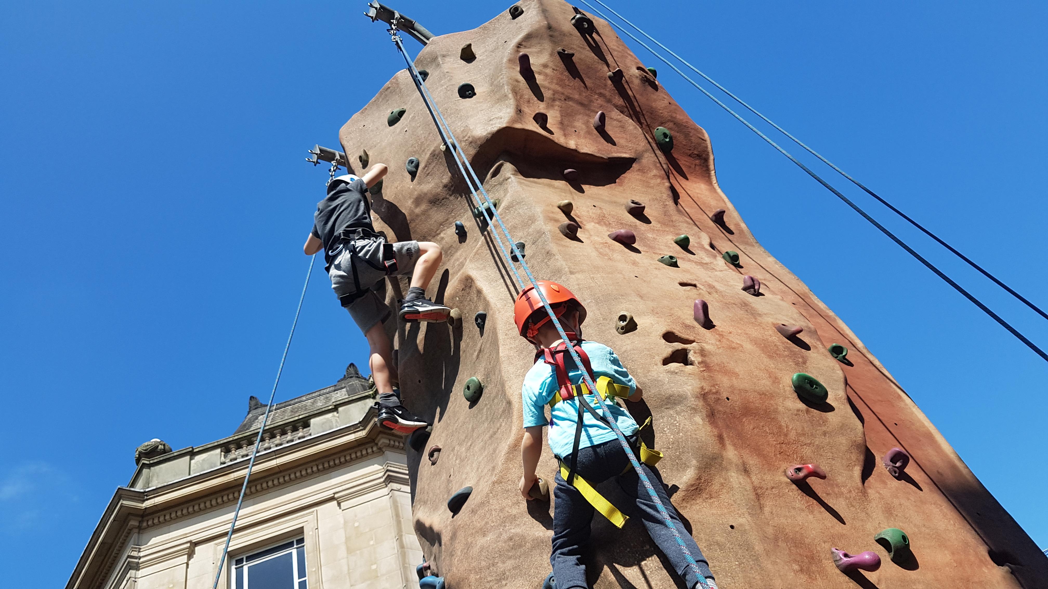 climbing, learn to climb, taster climbing