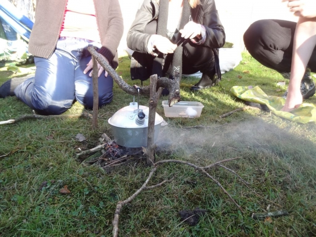 bushcraft based team building