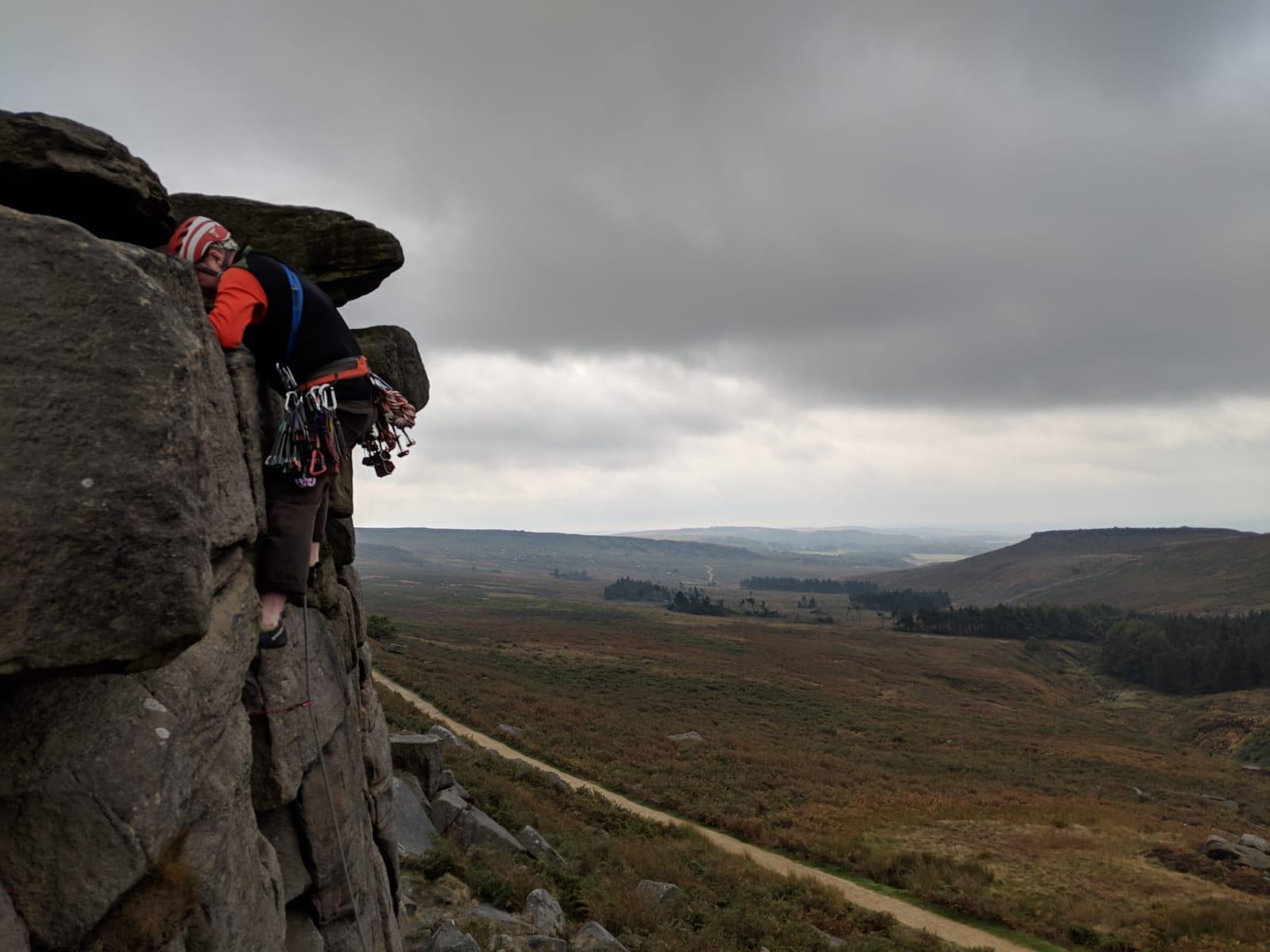 Climbing instructor