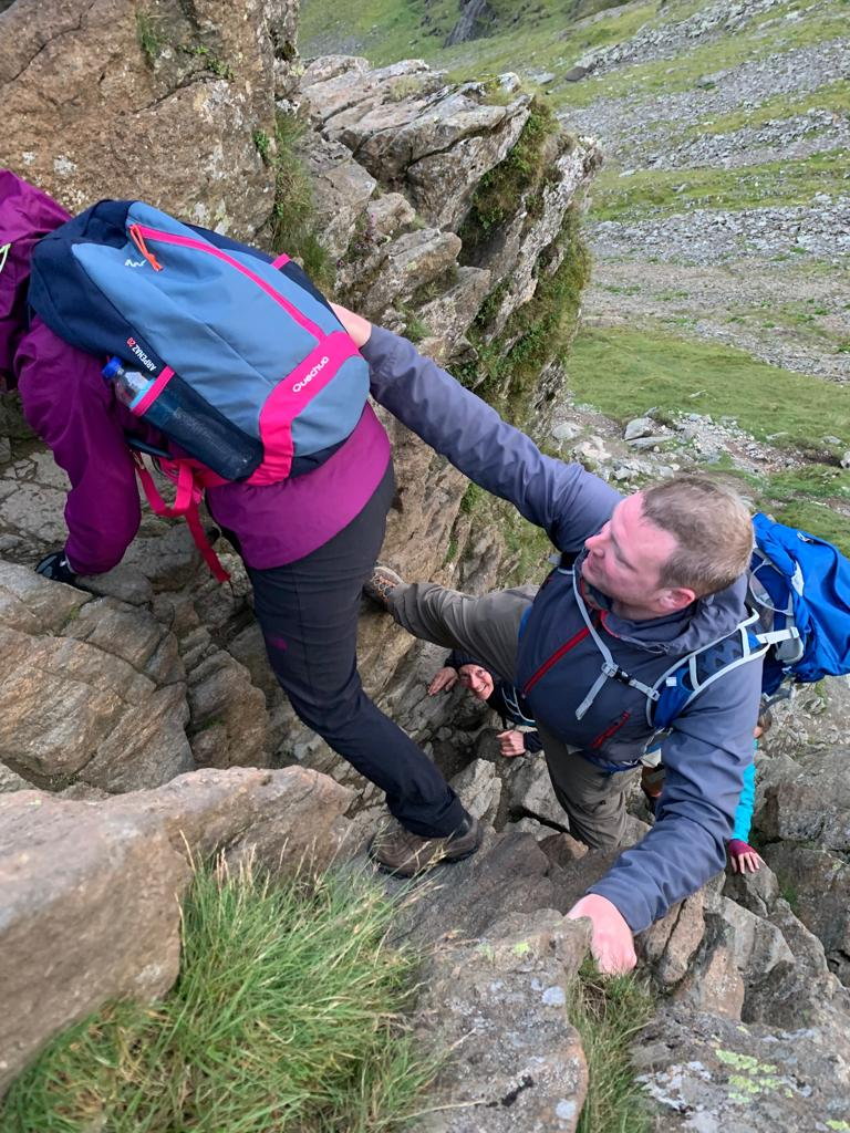 Guided Walk, Mountain Leader, Helvellyn, The Chimney, The Bad Step