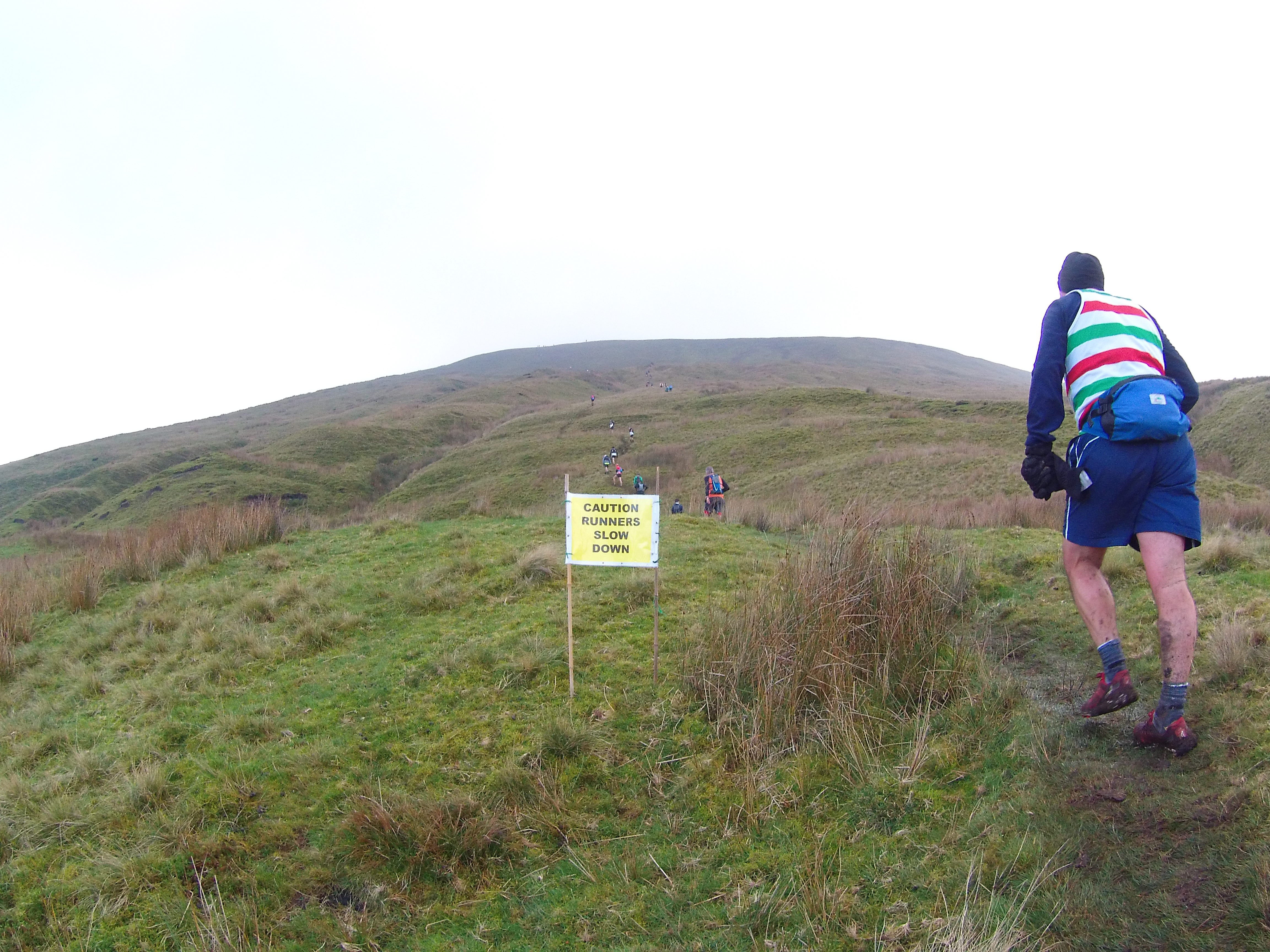 Pendle Hill, Guided Fell Run, Run Leader, Trail leader