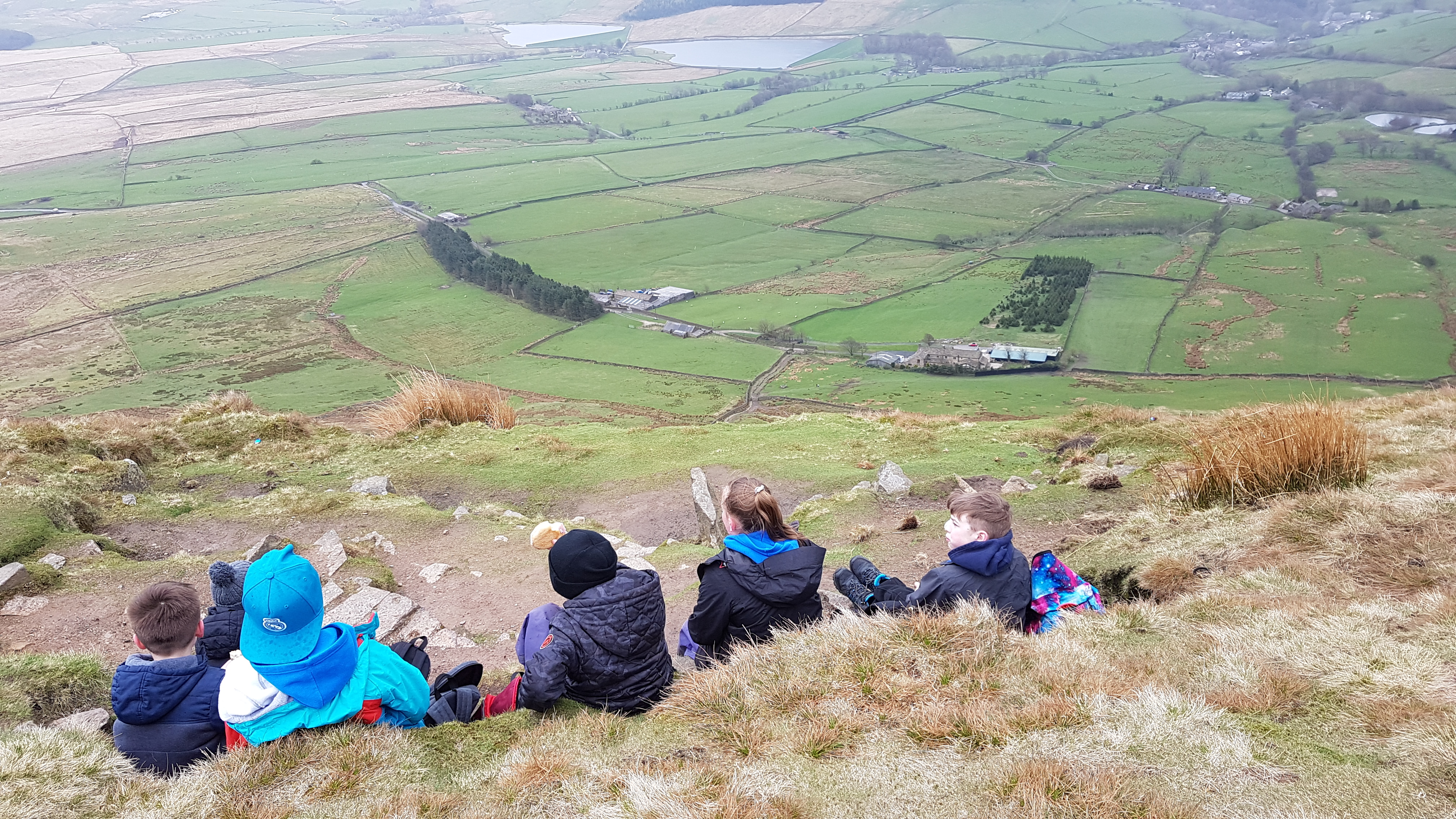 Pendle Hill. Guided Walk. Youth work
