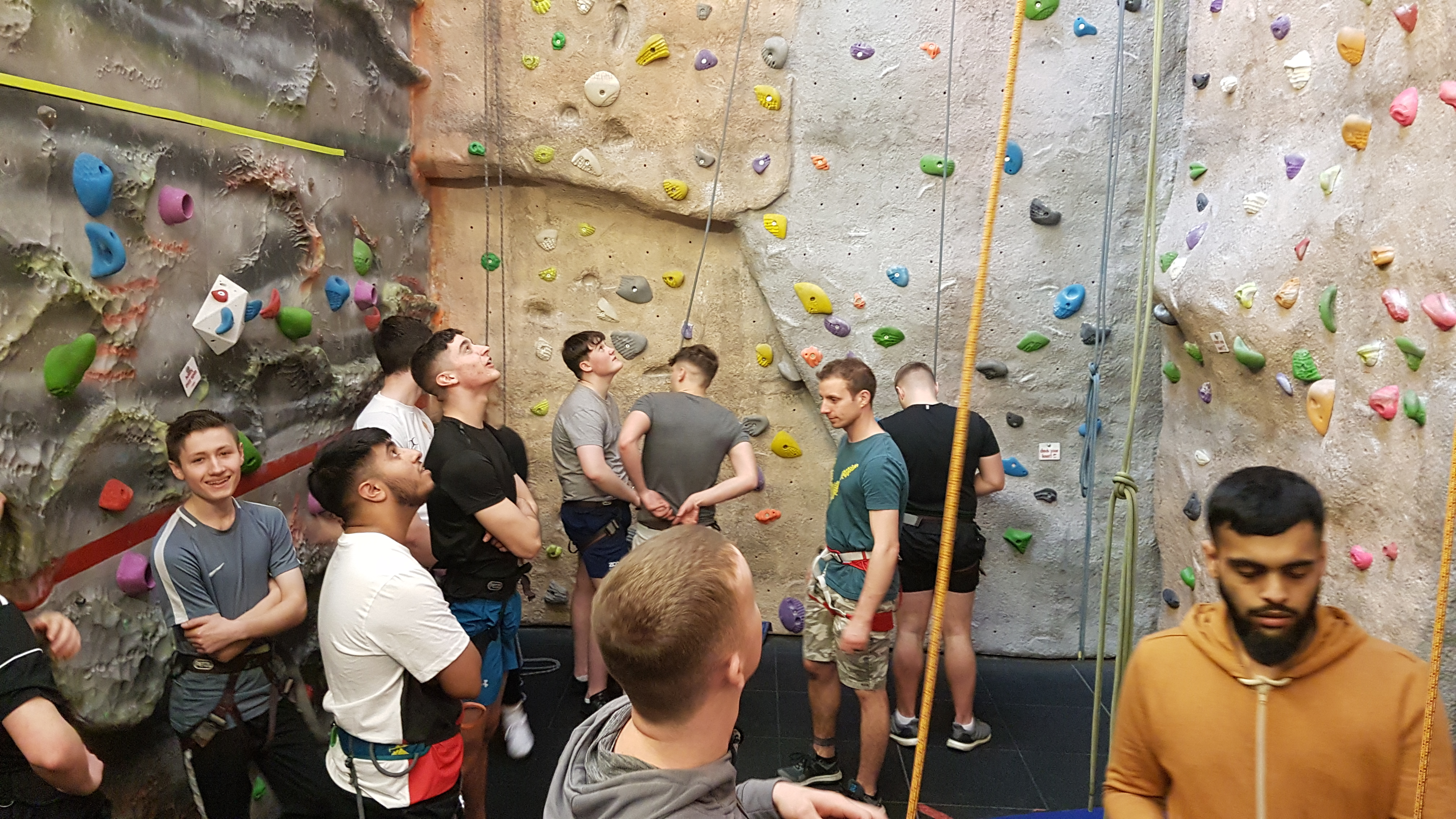 Climbing Instructor, Climbing Wall