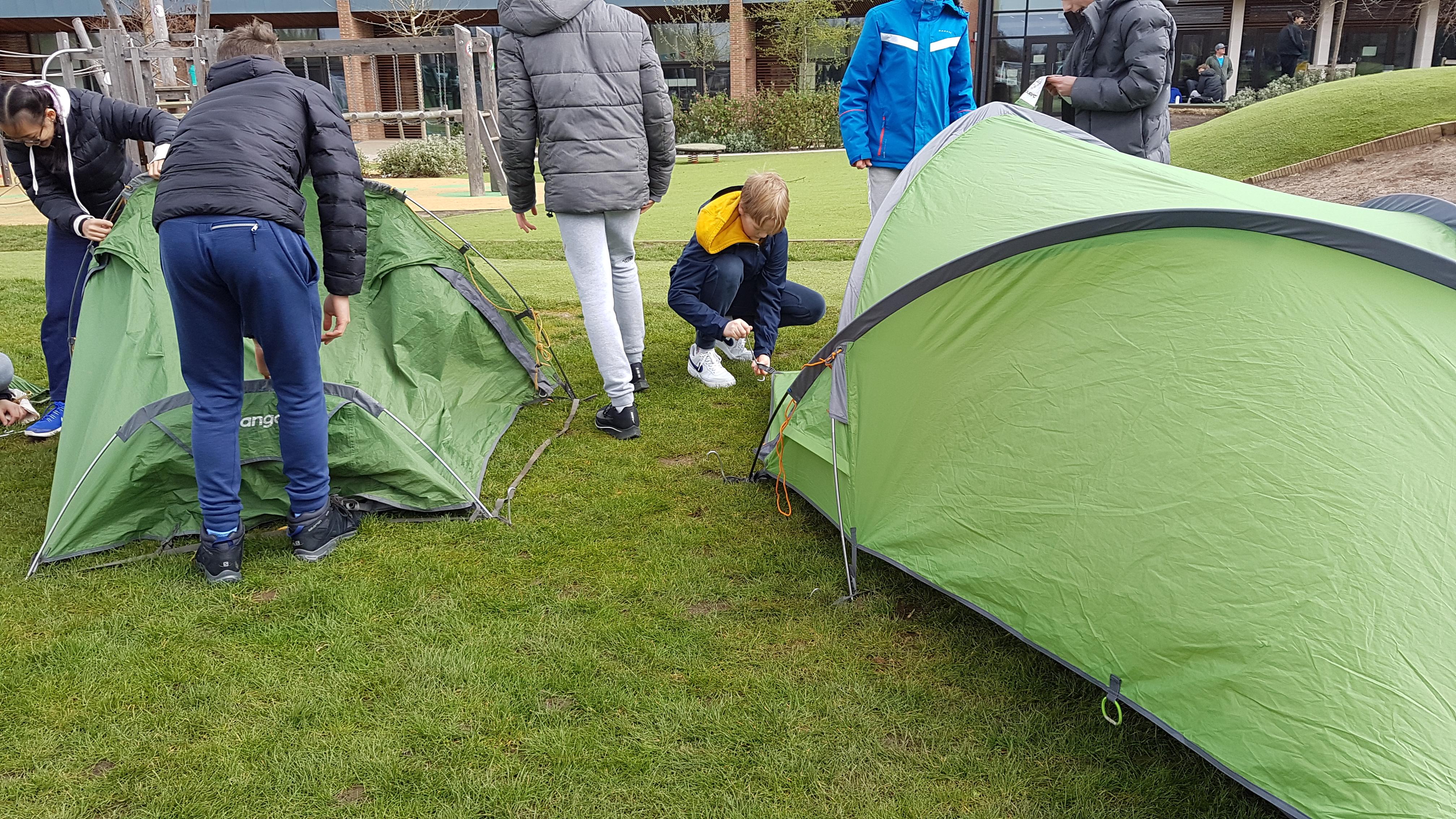 tent, DofE campcraft, DofE Bronze