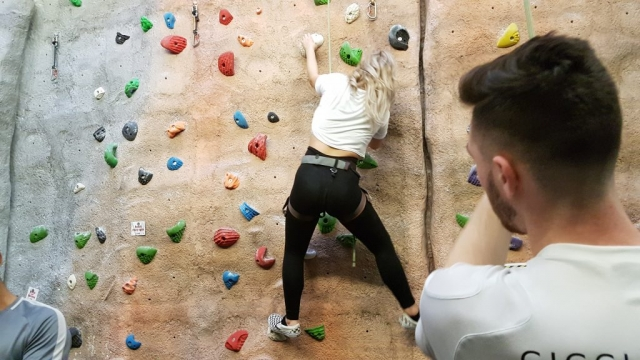 climbing wall instructor, climbing instructor