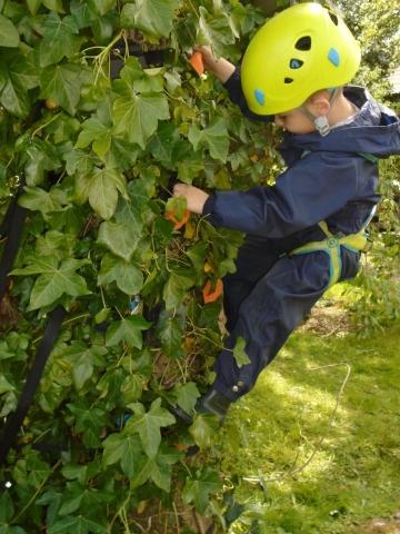climbing for children