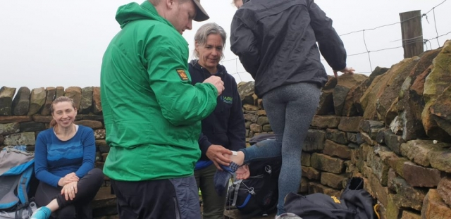 Walking, Guided Walk, Pendle, Blisters