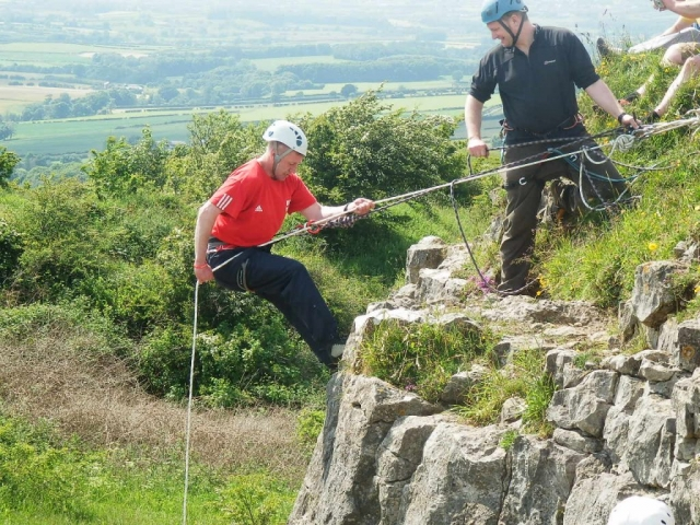 Abseil and climbing sessions