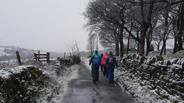 Mountain Leader, DofE supervision, DofE Training, Mountain Leader, snow